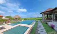 Villa Griya Atma Pool Side Seating Area   Ubud, Bali