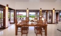 Villa Griya Atma Indoor Dining Area   Ubud, Bali