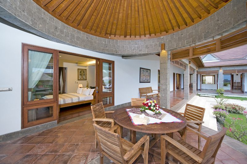 Villa Griya Atma Outdoor Dining   Ubud, Bali