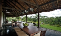 Villa Kelusa Indoor Dining Area | Ubud, Bali