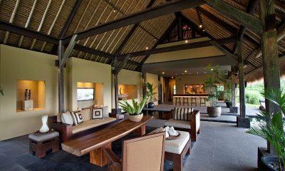 Villa Kelusa Indoor Living Area | Ubud, Bali