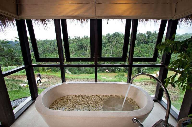Villa Kelusa Bathtub with View | Ubud, Bali