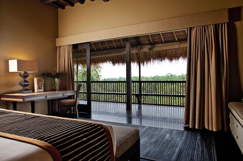 Villa Kelusa Bedroom and Balcony | Ubud, Bali