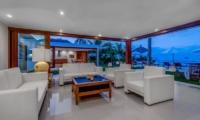 Villa Oceana Living Room | Candidasa, Bali