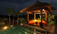 Villa Rumah Lotus Night View | Ubud, Bali