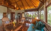 Villa Samaki Living and Dining Area | Ubud, Bali