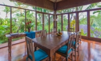Villa Samaki Indoor Dining Area | Ubud, Bali
