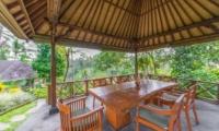 Villa Samaki Outdoor Dining Area | Ubud, Bali