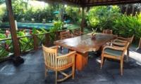 Villa Samaki Pool Side Dining | Ubud, Bali