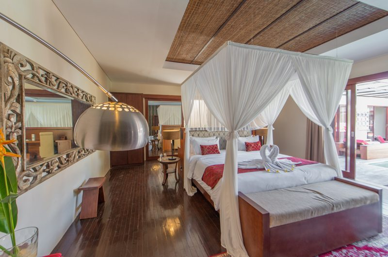 Villa Sam Seminyak Master Bedroom Front View | Petitenget, Bali