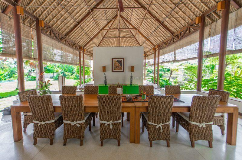 Villa Vastu Dining Area | Ubud, Bali