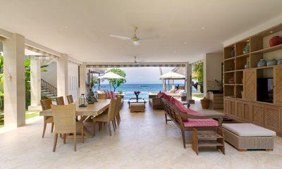 Cempaka Villa Living & Dining Area | Candidasa, Bali