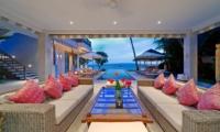 Cempaka Villa Living Room | Candidasa, Bali