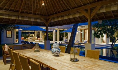 Cempaka Villa Outdoor Dining Area | Candidasa, Bali