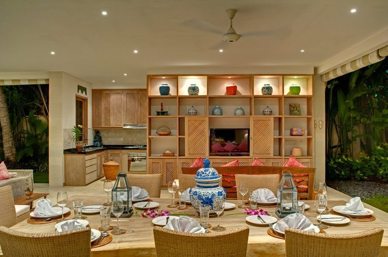 Cempaka Villa Dining Area | Candidasa, Bali