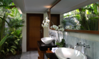 Seseh Beach Villas Seseh Beach Villa 2 His and Hers Bathroom | Seseh, Bali