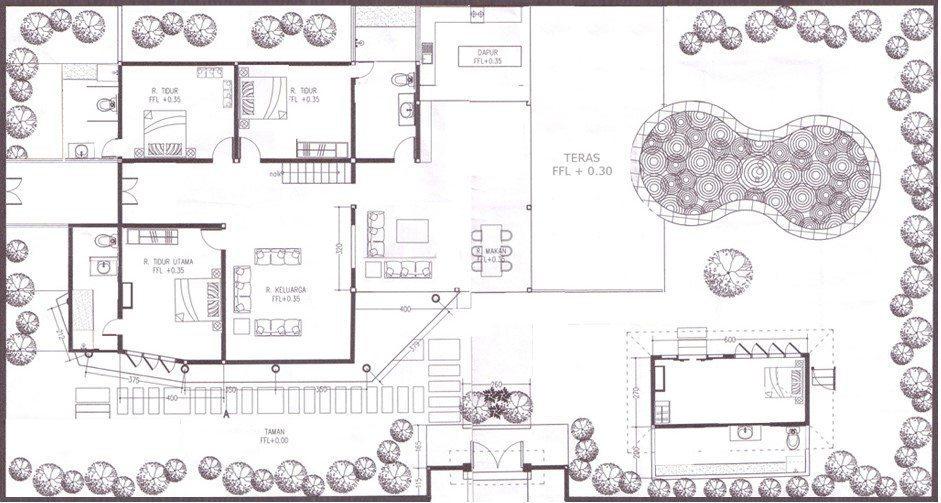 Villa Amaya Floorplan   Legian, Bali