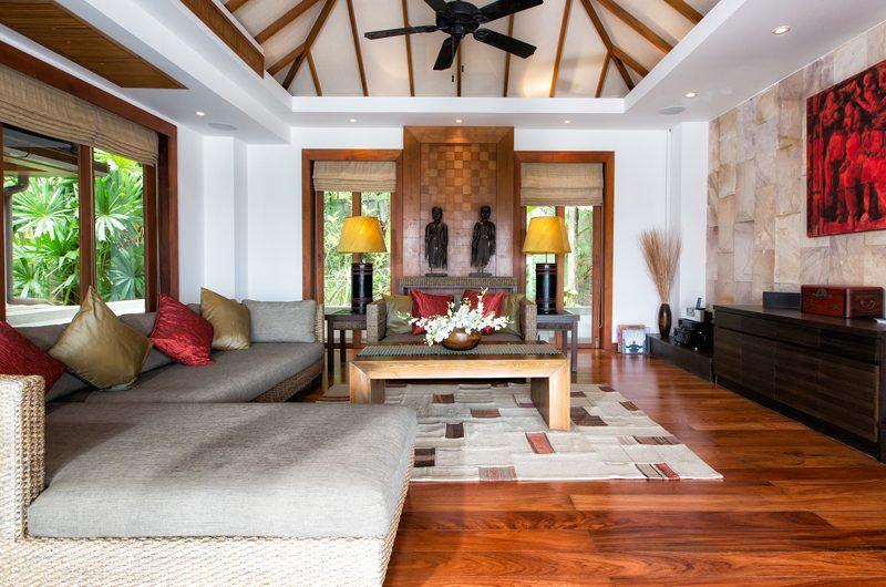 Baan Surin Sawan Living Area | Surin, Phuket