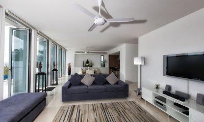 Villa Napalai Indoor Living Area   Surin, Phuket