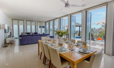 Villa Napalai Indoor Living and Dining Area   Surin, Phuket