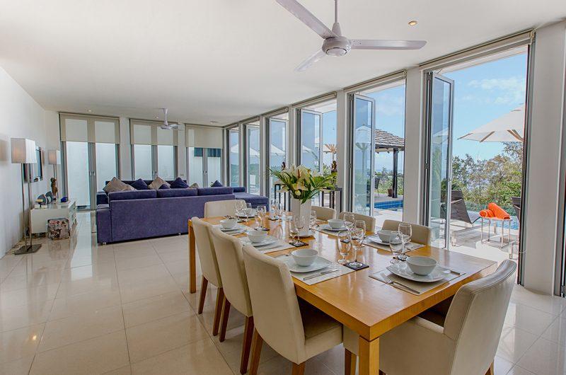 Villa Napalai Indoor Living and Dining Area | Surin, Phuket