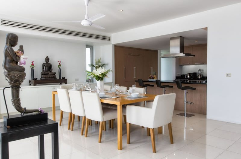 Villa Napalai Kitchen and Dining Area   Surin, Phuket
