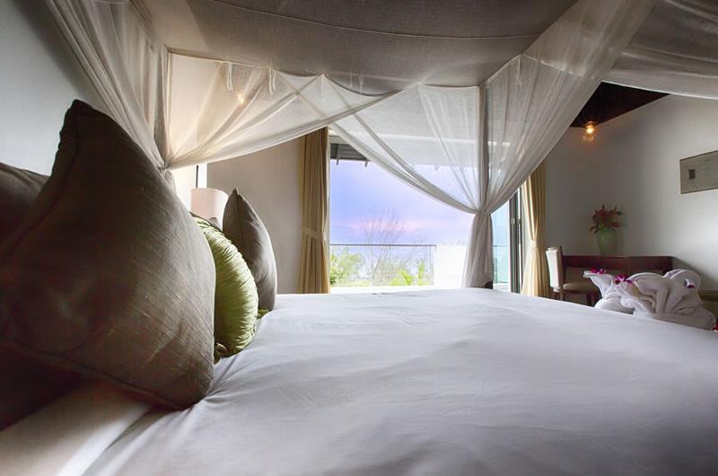 Villa Napalai Bedroom and Balcony   Surin, Phuket