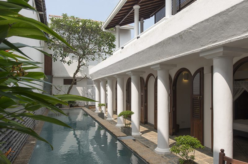 Ambassador's House Pool Side | Galle, Sri Lanka