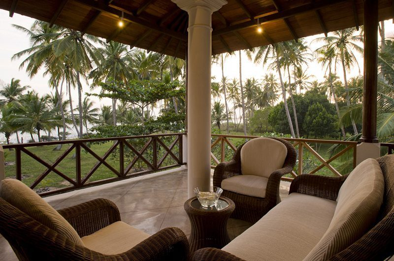 Ocean's Edge Outdoor Lounge | South Coast, Sri Lanka