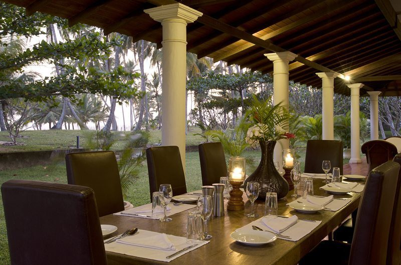 Ocean's Edge Dining Area | South Coast, Sri Lanka