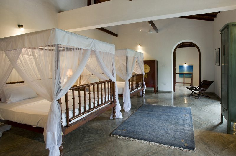 Ocean's Edge Twin Bedroom | South Coast, Sri Lanka