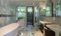 Kaba Kaba Estate His and Hers Bathroom | Tabanan, Bali