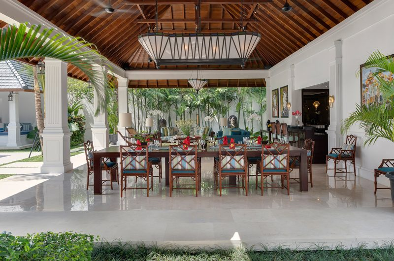 Windu Villas Villa Windu Asri Dining Area | Petitenget, Bali