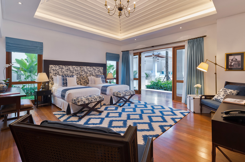 Windu Villas Villa Windu Asri Bedroom with Twin Beds | Petitenget, Bali