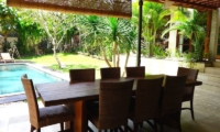 Villa Liang Outdoor Dining | Batubelig, Bali