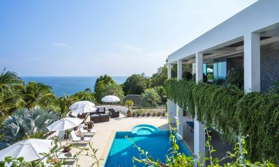 Waterfall Bay Gardens and Pool with Sea View | Kamala, Phuket