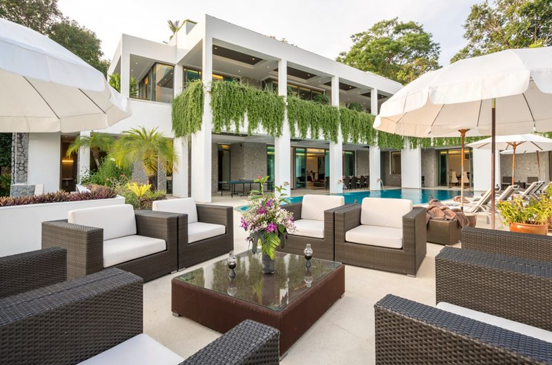 Waterfall Bay Outdoor Seating Area | Kamala, Phuket