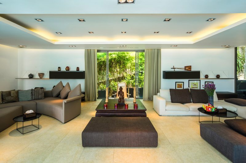 Waterfall Bay Living Area | Kamala, Phuket