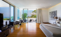 Waterfall Bay TV Room with Wooden Floor | Kamala, Phuket