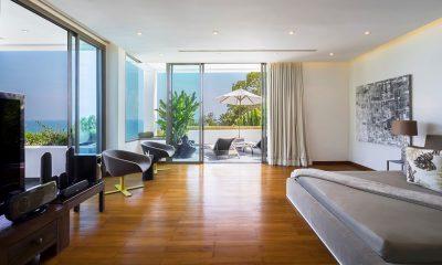Waterfall Bay TV Room with Wooden Floor   Kamala, Phuket