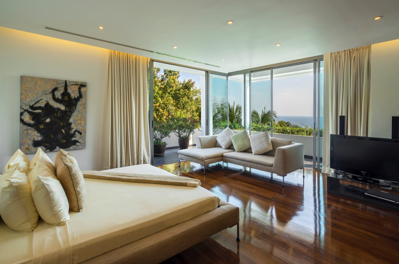 Waterfall Bay Bedroom with Sea View | Kamala, Phuket
