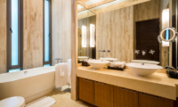 Waterfall Bay His and Hers Bathroom with Bathtub | Kamala, Phuket