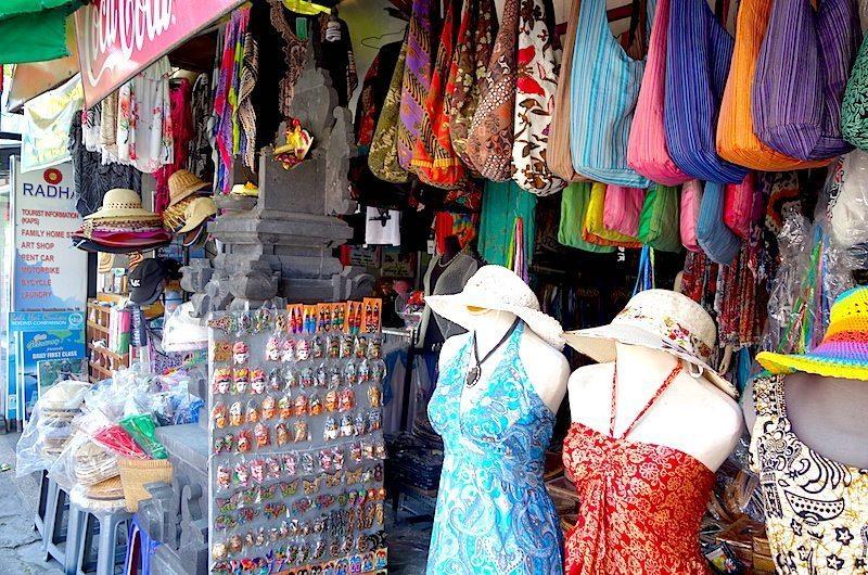 shopping in Sanur, Bali