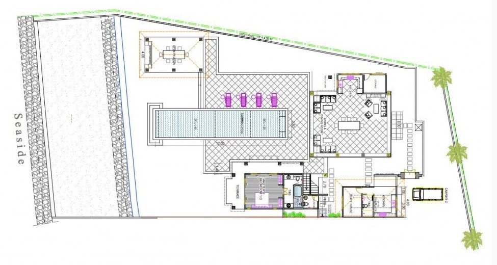 Villa Cempaka Floorplan | Candidasa, Bali