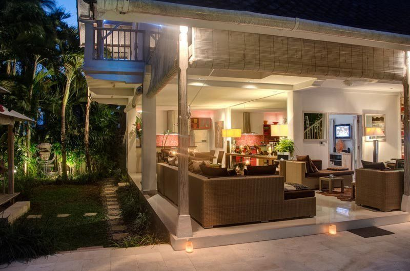 Villa Rama Sita Outdoor Seating | Seminyak, Bali