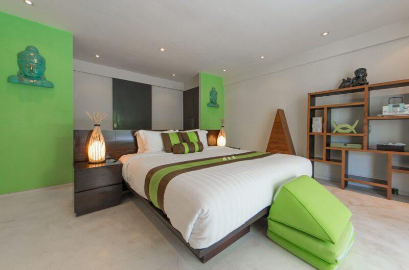 Casa Mateo Bedroom with Table Lamp | Seminyak, Bali