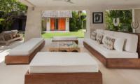 Casa Mateo Open Plan Seating Area | Seminyak, Bali
