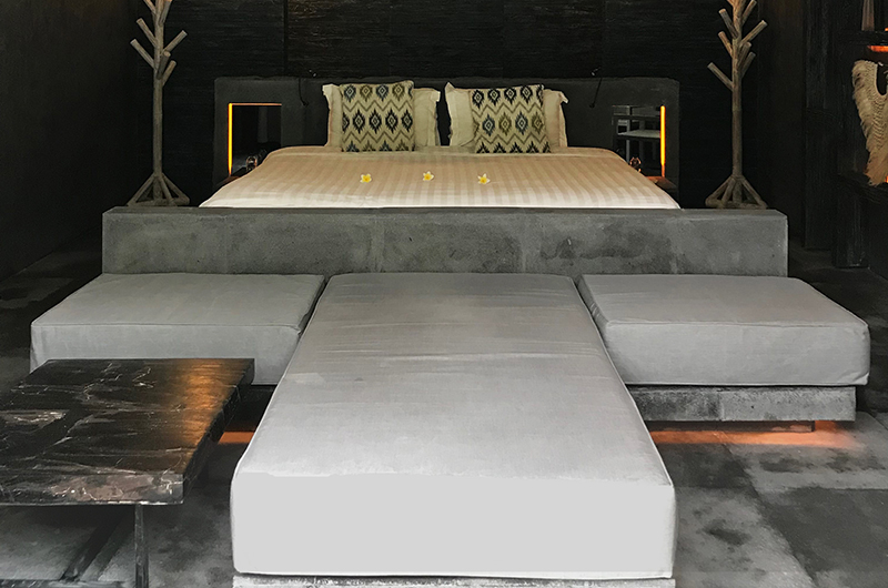 Casa Mateo Loft Main Bedroom with Seating | Seminyak, Bali