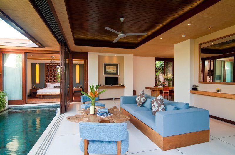 Maca Villas 2BR Deluxe Living Area | Seminyak, Bali