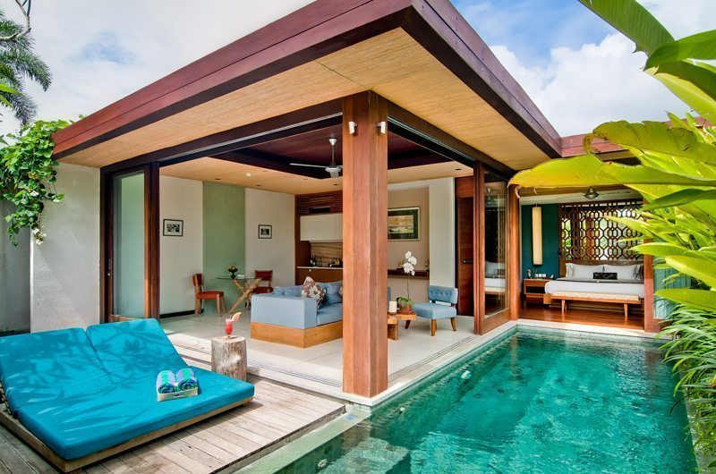 Maca Villas 1BR Open Plan Living Area | Seminyak, Bali